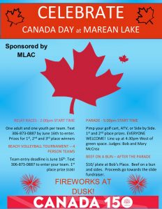 2017 Canada Day poster